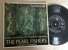 "7"" BJOERLING MERRILL THE PEARL FISHERS  RCA  MONO."