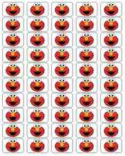 """50  Elmo Envelope Seals / Labels / Stickers, 1"""" by 1.5"""""""