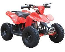 Sahara X 350W 24V 2-Speed 6'' High-Tensile Steel Brush Kids Ride-On Mini Quad