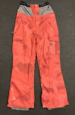 DC Banshee Snowboard Ski Cargo Pants Red Camo Waterproof Mens Size Medium New