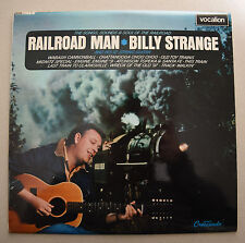 "BILLY STRANGE - RAILROAD MAN - RARE Guitar Instrumentals 12"" Vinyl Stereo LP"
