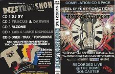 DIZSTRUXSHON-RETROSPEKT-DONACSTER WAREHOUSE-BYO-HARDCORE-OLDSKOOL-CD PACK