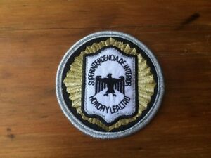 Argentina Federal Police patch PROVINCES SUPERINTENDENCE OFFICER