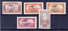 SYRIA SYRIE 1944, AIR MAIL, YVERT PA 107-111, MNH **