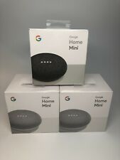 New Sealed Google Home Mini Small Speaker w/ Oem Accessories (Chalk+Charcoal) 20