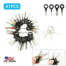41xCar Electrical Wiring Crimp Connector Extractor Terminal Removel Pin Key Tool
