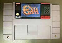 Illusion of Gaia Super Nintendo SNES JRPG RPG Game Authentic Cartridge