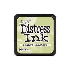 Tim Holtz Mini Distress Ink Pad Shabby Shutters Light Green, Khaki