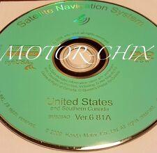 2007 2008 2009 2010 2011 Honda CRV Fit Element Insight CR-Z Navigation DVD Map