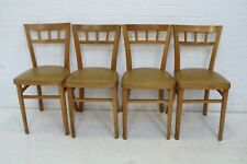 VINTAGE 4 DINING CHAIRS