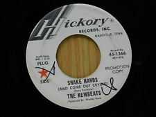 The Newbeats 45 SHAKE HANDS bw TOO SWEET TO BE FORGOTTEN   Hickory VG to VG+
