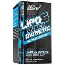 Nutrex Lipo 6 Black Diuretic, 80 caps