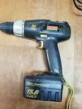 CRAFTMAN 15v Drill, RYOBI 18v CHARGER 2 BATT, BD BAG For Parts Repair