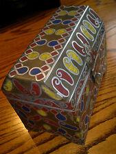 """GRANDE Fatto a mano etnica Gioielli Ciondolo Box Cofanetto. 8"""" di diametro, 6.5"""" di altezza, profondità 5"""""""