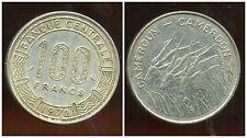 CAMEROUN 100 francs 1972  ( bis )