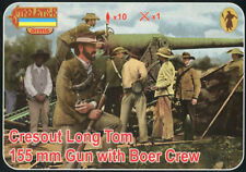 Strelets 1/72 Cresout Long Tom 155mm Gun with Boer Crew # A014