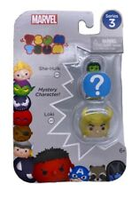 Disney Tsum Tsum - Marvel Series 3; She-Hulk, Loki And Mystery Character