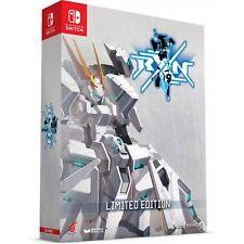 RXN RAIJIN Limited Edition Nintendo Switch + Steelbook Case + Art Region Free