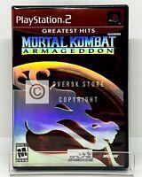 Mortal Kombat: Armageddon - PS2 - Brand New | Factory Sealed