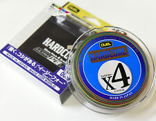 DUEL HARDCORE X4 #1.5(25lb)-300m ULTRA PE (Braided) 100% Line MADE IN JAPAN