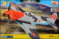 COBI Yakovlev Yak-3 (5529) - 235 elem. - WWII Soviet fighter aircraft