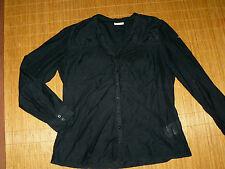 Street One Damenblusen,-Tops & -Shirts im Blusen-Stil mit V-Ausschnitt ohne Muster