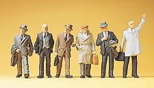 Preiser 10381 H0, Geschäftsleute, 6 Figuren, handbemalt, Neu