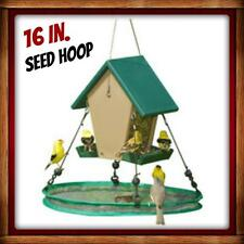 "Songbird Essentials SEED HOOP SEEDHOOP 16"" SEED CATCHER  PLATFORM BIRD FEEDER"