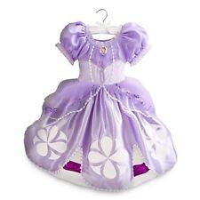 SOFIA THE FIRST Costume Purple Dress w/ Heart Cameo Medium 7 8 DISNEY STORE 2015