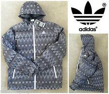 Para Hombre Adidas DD60 Abrigo Chaqueta Acolchada Nórdica hacia abajo con capucha Parka Originals M68803