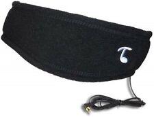 NWT Tooks Fleece Sportec Black head Band with headphone speakers for MP3 Music