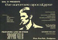 """DIAL """"B"""" Alternative Dance Flyer Flyers A5 18/7/97 The Portland Club Birmingham"""