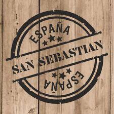 Vinilo de Corte San Sebastian Pegatina San Sebastian España 10 cm Adhesivo Pared