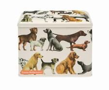 Emma Bridgewater Dogs All Over Rectangular Storage Tin Caddy DOG3107
