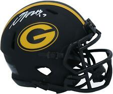 Davante Adams Green Bay Packers firmado Eclipse alternativo de Velocidad Mini Casco
