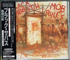 """Black Sabbath """"Mob Rules"""" Japan CD w/OBI Jewel Case TECW-20184"""