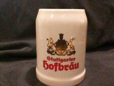 GTUTTGARTER HOFBRAU GERMANY 0.5L STEIN ,ESTATE ITEM
