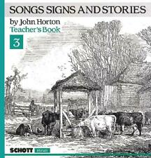 Songs Signs And Stories Vol. 3 John Horton Learn to Play MUSIC BOOK
