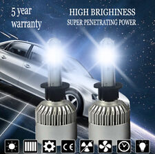 H1 1800W 420000LM COB LED Headlight Kit Conversion Car Bulb Xenon 6000K Power