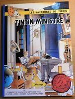 PASTICHE Tintin - TINTIN MINISTRE. Album cartonné 48 pages couleurs. HC. NEUF
