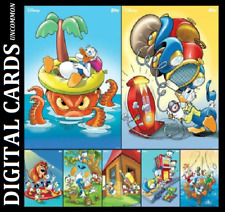 TOPPS DISNEY COLLECT APRIL FOOLS DAY 2020 [ SET 7 CARDS] DONALD DUCK