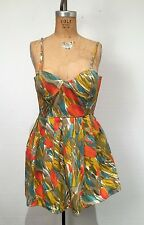 Jack XS dress w pockets! Anthropologie Pinup Retro Vintage 50s style bustier