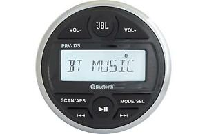 JBL PRV 175 AM/FM/USB/Bluetooth Gauge Style Marine Boat Stereo Receiver