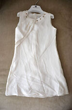 New Authentic Young Versace Girl's White Dress (Size 6)