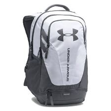 aaeebb2d0ef2 NWT Under Armour Hustle 3.0 Laptop Backpack White Graphite