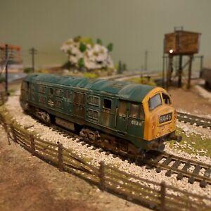 Hornby R084 ~ Class 29 ~ Diesel BR Blue ~ OO gauge ~ Lineside Weathered
