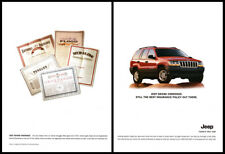 Jeep Grand Cherokee print ad 2001 Best Insurance Policy