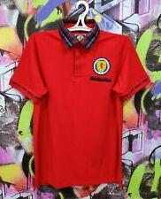 Scotland National Football Team Scotish Shirt Soccer Jersey Top Polo Mens Size M