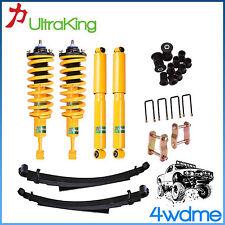 """Toyota Hilux KUN26 F + R Shocks & KING Coil Spring & Leaf Spring 2"""" Lift Kit"""