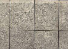 cartina alpina - marpex   - 1:50.000 - in tessuto telato -